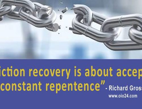 Addiction Recovery is about acceptance